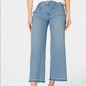 J. Jill High Ruse Full Leg Crops Jeans size 8
